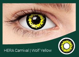 ЭРА карнавал Желтый Волк